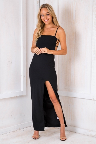 Bishop Bread Dress - Black