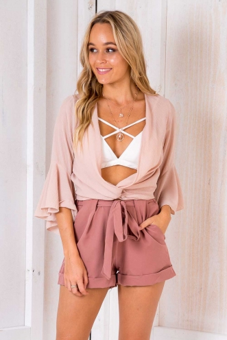 Fritule Top - Blush