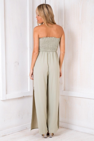 Calypso Jumpsuit - Light Khaki