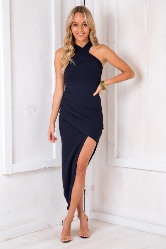 Tahnee Evening Dress- Navy