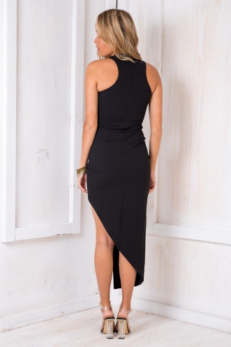 Tahnee Evening Dress- Black