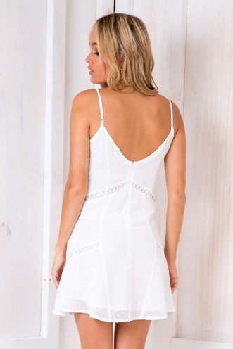 Eden Dress - White