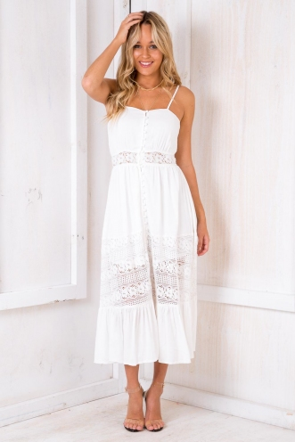 Your Lover Dress - White