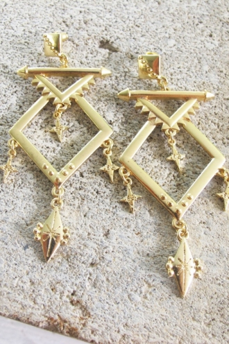 Minc Collections - Galaxy Earrings - Gold