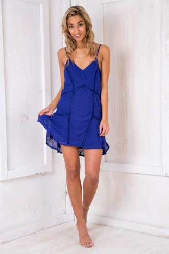 Eden Dress - Blue