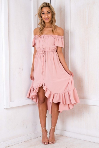 Shape Of My Heart Dress - Blush