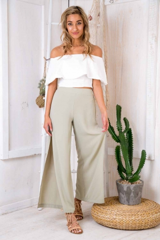 Dango Pants - Light Khaki