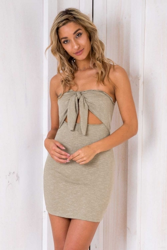 Pocahontas Dress - Light Khaki