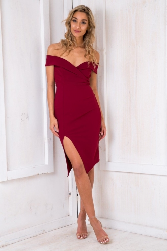 Princess Aurora Dress - Maroon