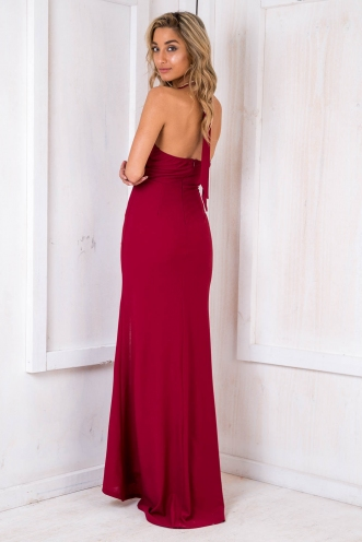 Rapunzel Dress - Maroon