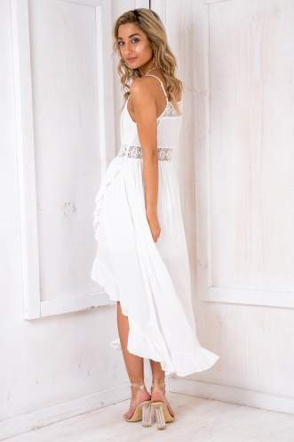 Beach Bum Dress - White