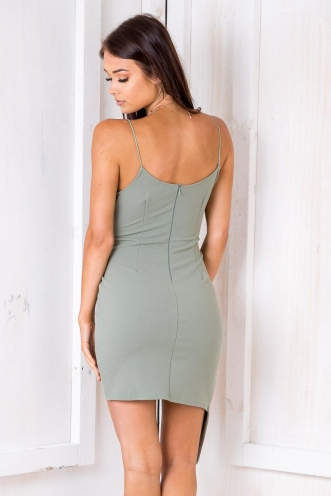 German Chocolate Cake Dress - Khaki