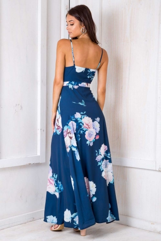 Dory Dress - Navy Floral