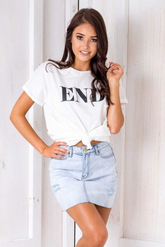 End Top - White