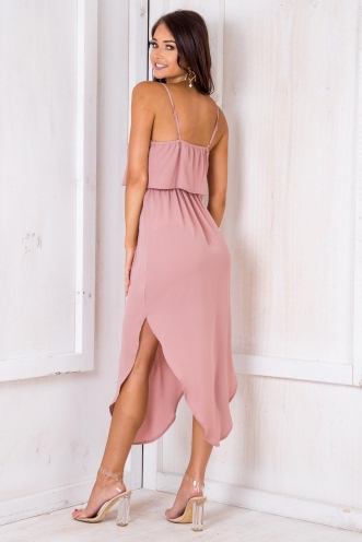 What I Want Relaxed Maxi Dress - Blush
