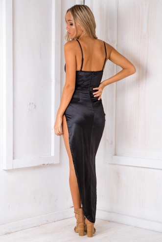 Funing Big Cake Dress - Black