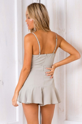 Counting Stars Playsuit - Light Khaki