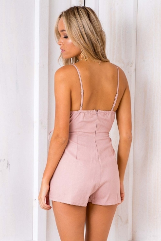 Uptown Funk! Playsuit - Blush
