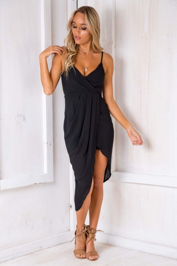 It Goes Like This Dress - Black