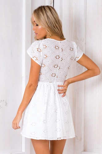 One Dance Dress - White