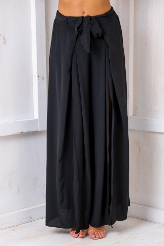 Paris Crepe Pants - Black