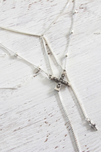Minc Collections - Southern Star Necklace - Silver