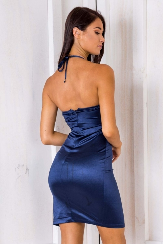 Hey There Delilah Dress - Navy