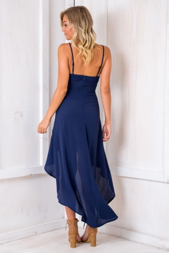 Little Things Dress - Navy