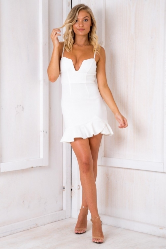 Send My Love Dress - White
