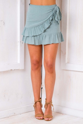Coconut Cake Skirt - Khaki