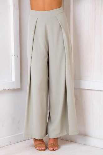 Tropical Getaway Pants - Light Khaki