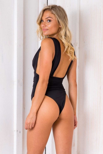 Sunny Sunday Bodysuit - Black