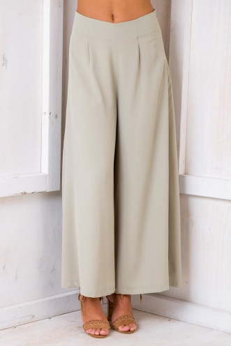 Thinking Of You Pants - Light Khaki