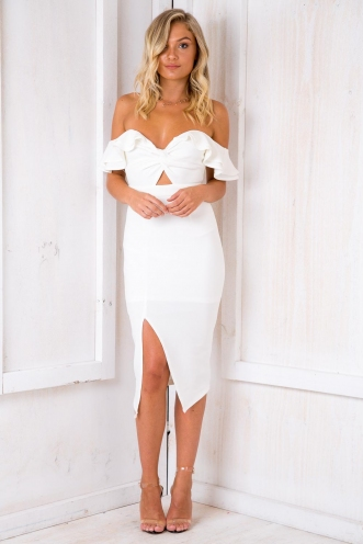 Back To You Dress - White