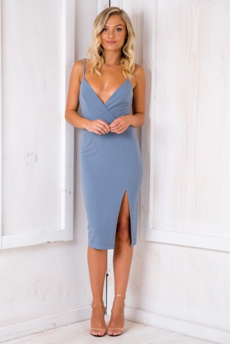 Just To See You Smile Dress - Grey