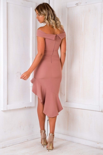Manhattan Dress - Dusty Pink
