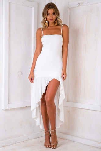 Sweet About Me Dress - White