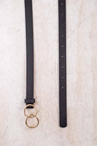 Infinity Belt - Black/Gold