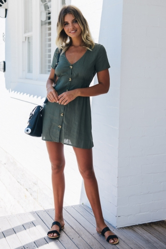Light Loving Dress - Khaki