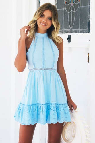 Baby Gal Dress - Blue