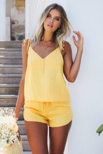 Tropical Delight Top - Yellow