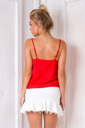 All About Me Top - Red