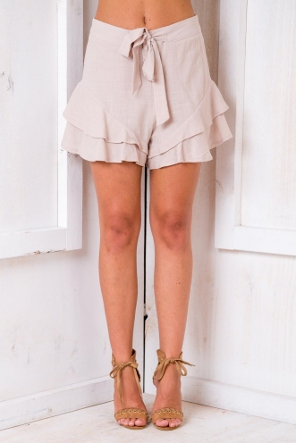 Mystery Shorts - Taupe
