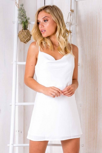Tune It Up Dress - White