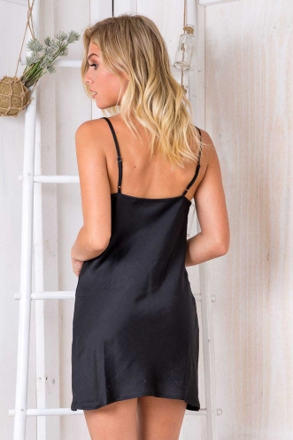 Tune It Up Dress - Black