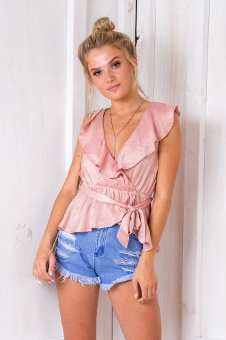 Take My Heart Top - Blush