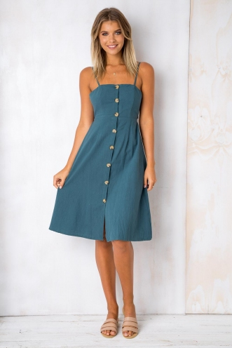 Drops of Jupiter Dress - Deep Green
