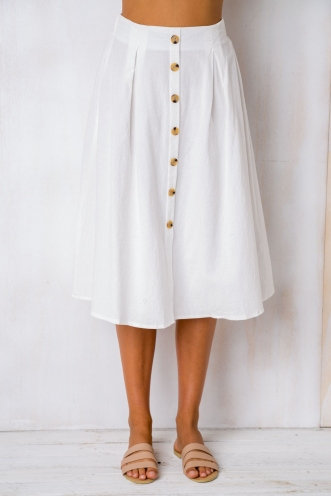 Market Day Skirt - White
