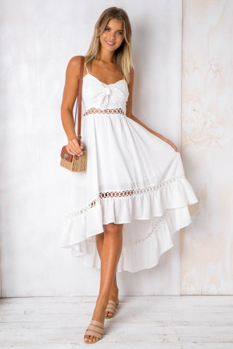Beautiful Day Dress - White