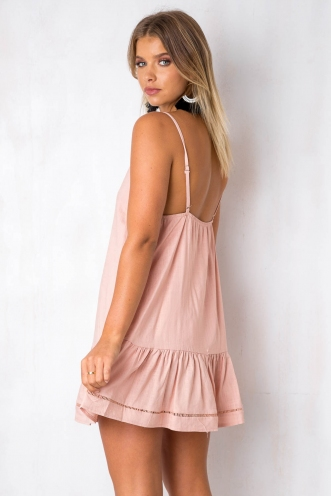 Bobbi Dress - Dusty Pink